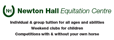 Newton Hall Equitation Centre