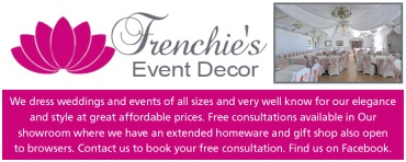 Frenchies Event Decor