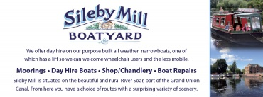 Sileby Mill Boatyard Ltd