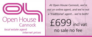 Open House Cannock Estate Agents